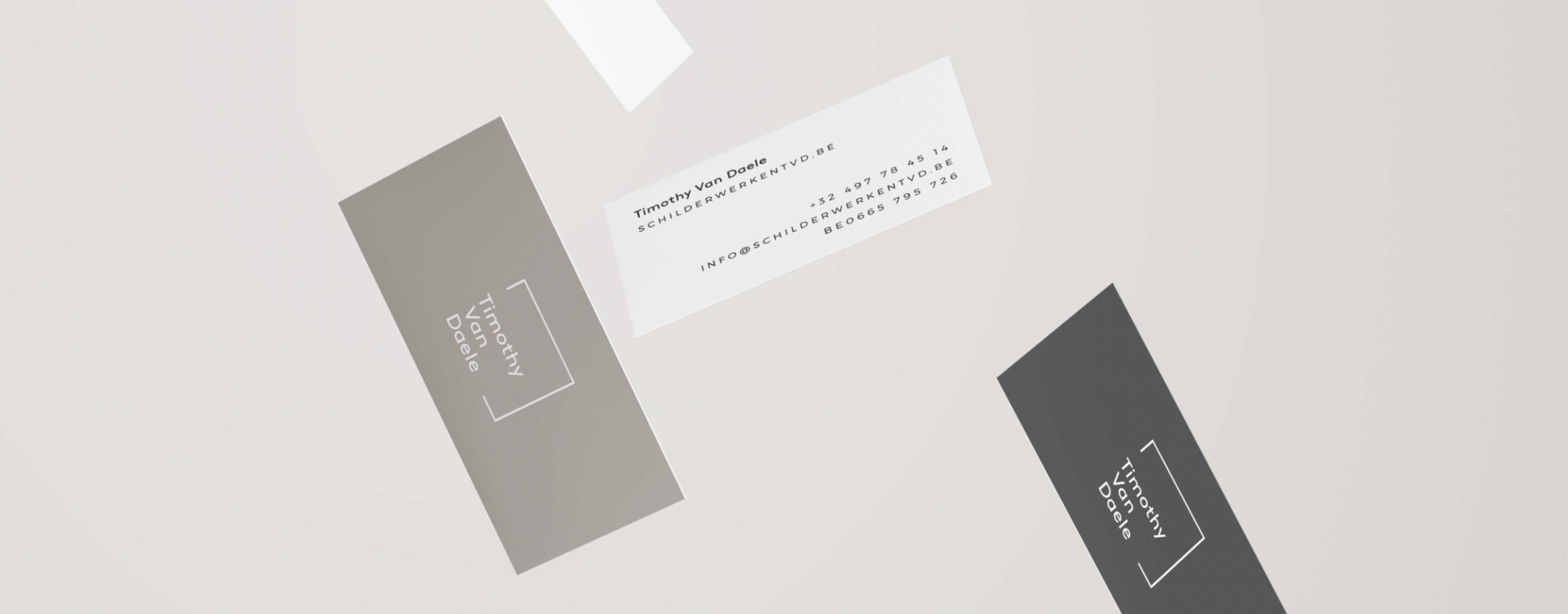 TVD visitekaartjes