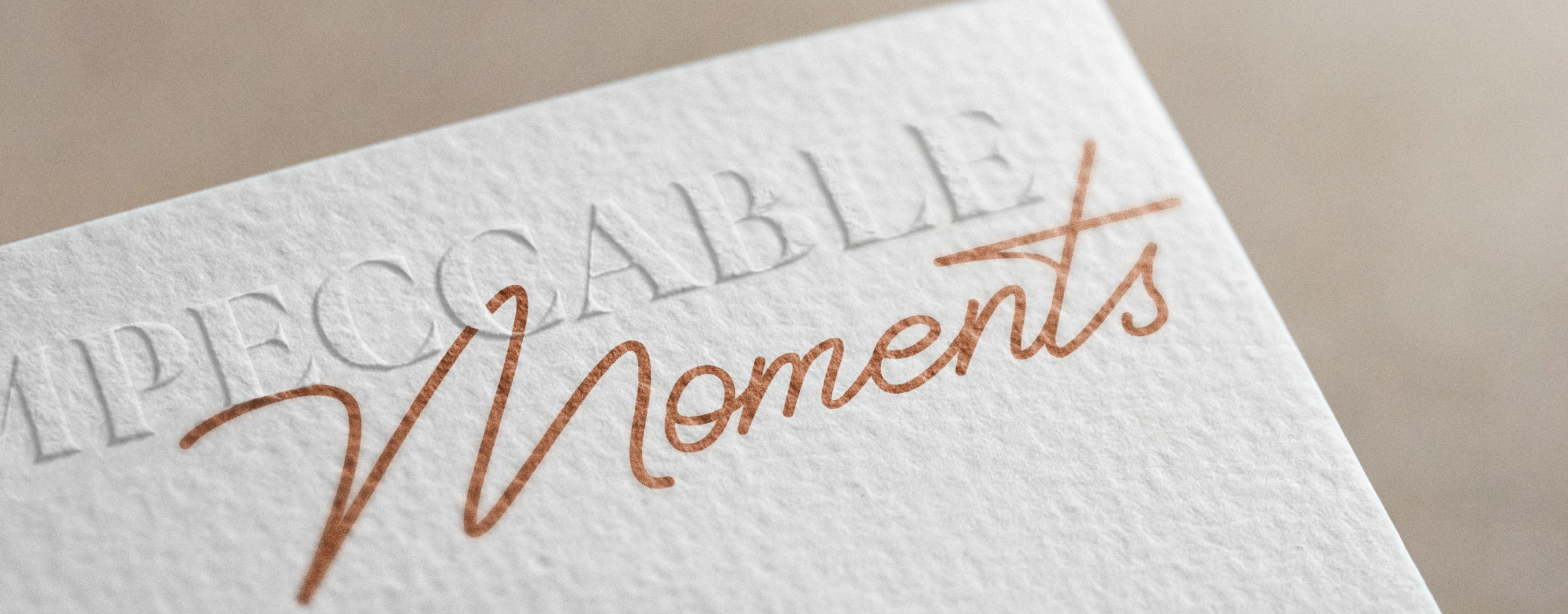 Impeccable Moments logo