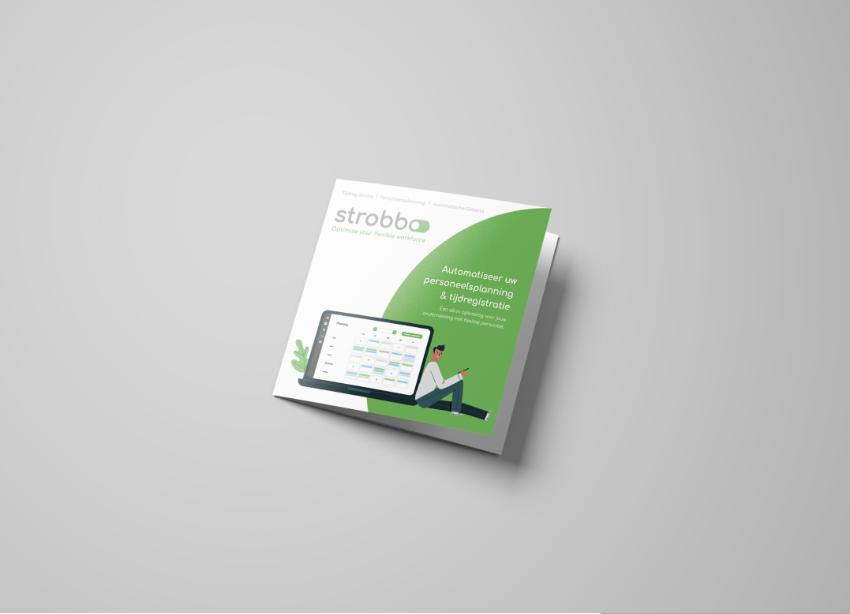 Folder ontwerp